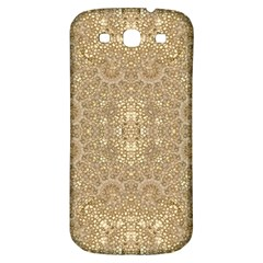 Ornate Golden Baroque Design Samsung Galaxy S3 S Iii Classic Hardshell Back Case