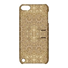 Ornate Golden Baroque Design Apple Ipod Touch 5 Hardshell Case With Stand