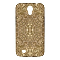 Ornate Golden Baroque Design Samsung Galaxy Mega 6 3  I9200 Hardshell Case