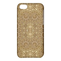 Ornate Golden Baroque Design Apple Iphone 5c Hardshell Case