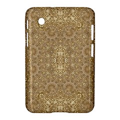 Ornate Golden Baroque Design Samsung Galaxy Tab 2 (7 ) P3100 Hardshell Case