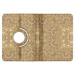 Ornate Golden Baroque Design Kindle Fire Hdx Flip 360 Case