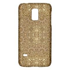 Ornate Golden Baroque Design Galaxy S5 Mini