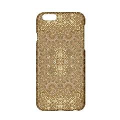 Ornate Golden Baroque Design Apple Iphone 6/6s Hardshell Case