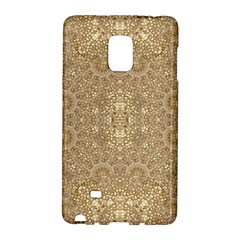 Ornate Golden Baroque Design Galaxy Note Edge