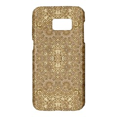 Ornate Golden Baroque Design Samsung Galaxy S7 Hardshell Case