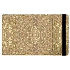 Ornate Golden Baroque Design Apple Ipad Pro 12 9   Flip Case