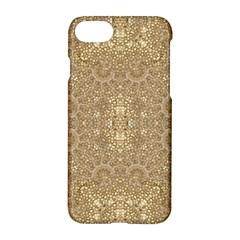 Ornate Golden Baroque Design Apple Iphone 7 Hardshell Case