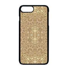 Ornate Golden Baroque Design Apple Iphone 7 Plus Seamless Case (black)