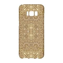 Ornate Golden Baroque Design Samsung Galaxy S8 Hardshell Case