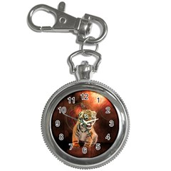 Cute Little Tiger Baby Key Chain Watches