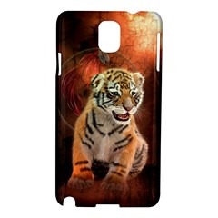 Cute Little Tiger Baby Samsung Galaxy Note 3 N9005 Hardshell Case