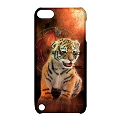 Cute Little Tiger Baby Apple Ipod Touch 5 Hardshell Case With Stand