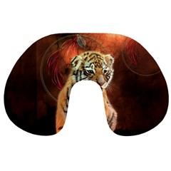 Cute Little Tiger Baby Travel Neck Pillows