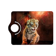 Cute Little Tiger Baby Kindle Fire Hd (2013) Flip 360 Case