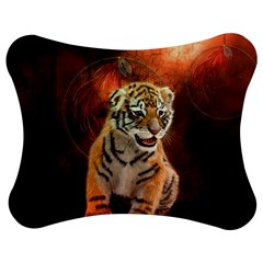 Cute Little Tiger Baby Jigsaw Puzzle Photo Stand (bow)