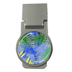 Tropical Palms Money Clips (round)