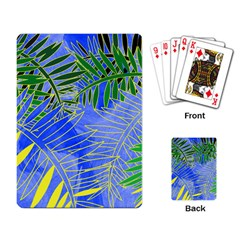 Tropical Palms Playing Card