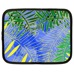 Tropical Palms Netbook Case (large)