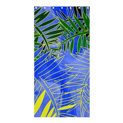 Tropical Palms Shower Curtain 36  X 72  (stall)