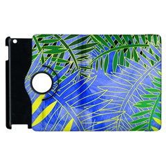 Tropical Palms Apple Ipad 3/4 Flip 360 Case