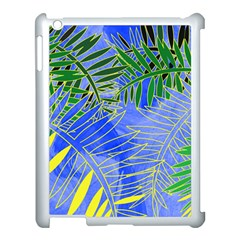 Tropical Palms Apple Ipad 3/4 Case (white)