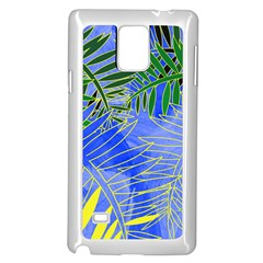 Tropical Palms Samsung Galaxy Note 4 Case (white)