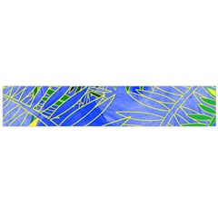 Tropical Palms Flano Scarf (large)