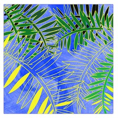 Tropical Palms Large Satin Scarf (square)