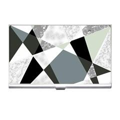 Monogram Marble Mosaic Business Card Holders