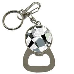 Monogram Marble Mosaic Button Necklaces