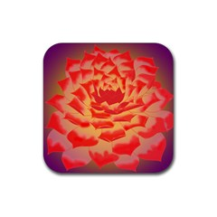 Inner Glow Rubber Square Coaster (4 Pack)