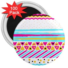 Tribal 3  Magnets (100 Pack)