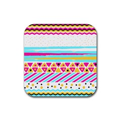 Tribal Rubber Square Coaster (4 Pack)