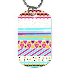 Tribal Dog Tag (two Sides)