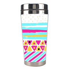 Tribal Stainless Steel Travel Tumblers