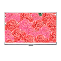 Roses Business Card Holders