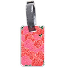 Roses Luggage Tags (one Side)
