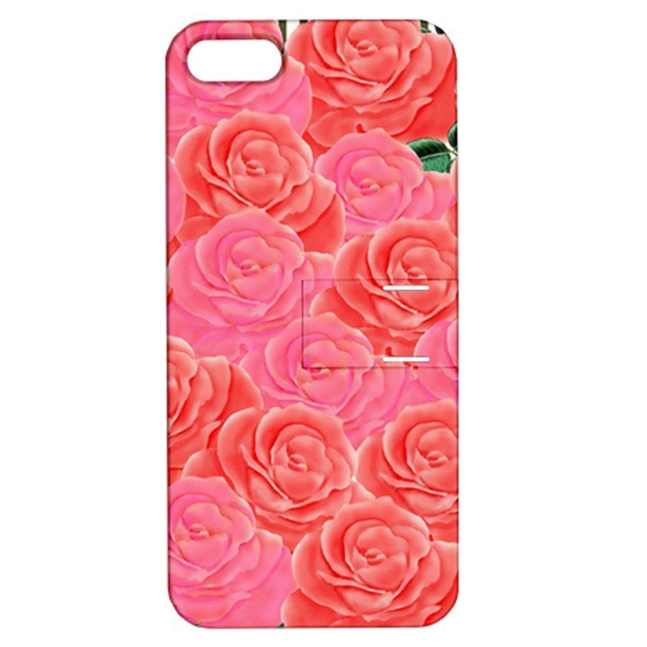 Roses Apple iPhone 5 Hardshell Case with Stand