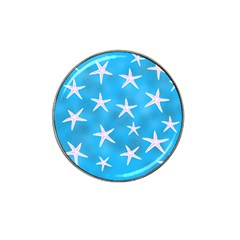Star Fish Hat Clip Ball Marker (10 Pack)