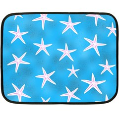 Star Fish Fleece Blanket (mini)
