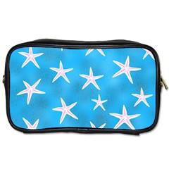 Star Fish Toiletries Bags 2 Side