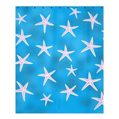 Star Fish Shower Curtain 60  X 72  (medium)