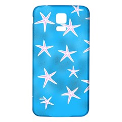 Star Fish Samsung Galaxy S5 Back Case (white)