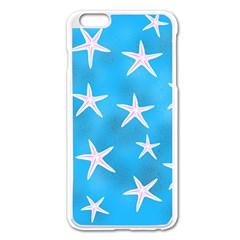 Star Fish Apple Iphone 6 Plus/6s Plus Enamel White Case