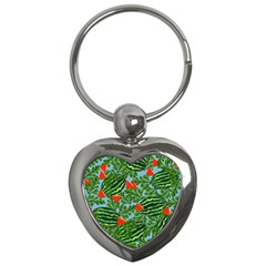 Juicy Watermelons Key Chains (heart)