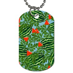 Juicy Watermelons Dog Tag (one Side)