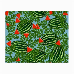 Juicy Watermelons Small Glasses Cloth
