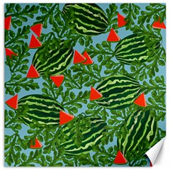 Juicy Watermelons Canvas 16  X 16