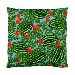 Juicy Watermelons Standard Cushion Case (two Sides)
